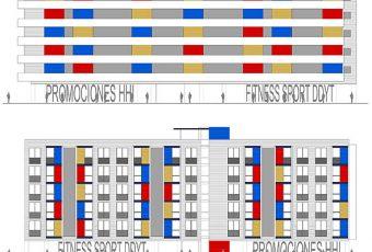 Proyecto Edificio 35 viviendas de promoción pública, locales y garajes en Vinaroz, Castellón