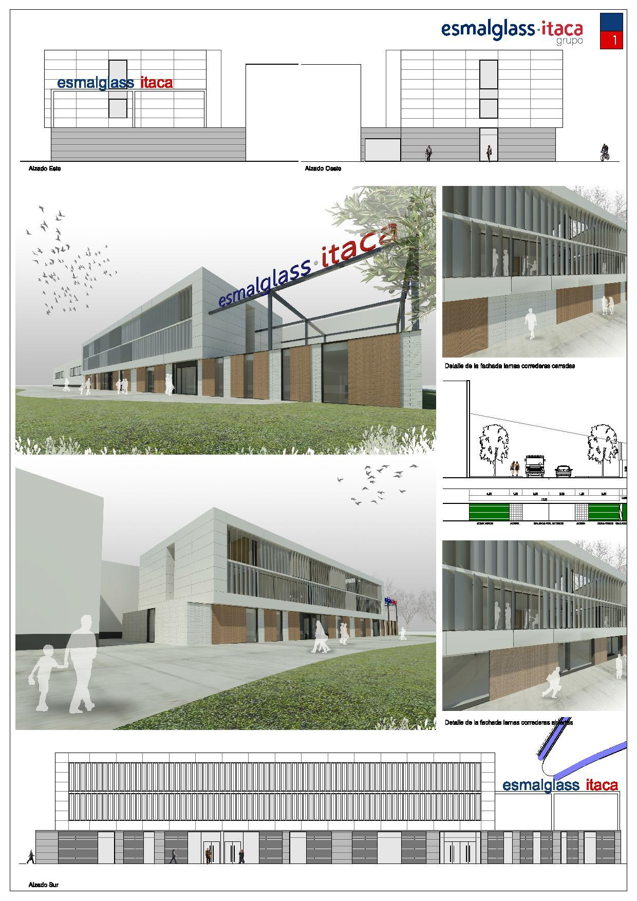 Propuesta edificio oficinas itaca pobal tornesa castell n for Oficina correos castellon